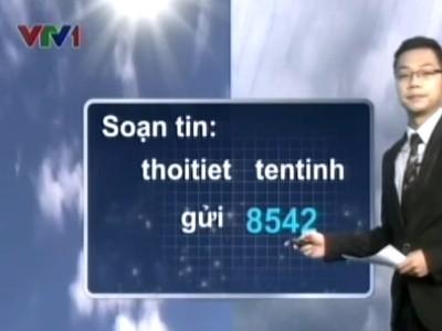 Không cần thiết phải nhắn tin mất tiền, người dân chỉ cần truy cập vào www.nchmf.gov.vn là có đủ thông tin dự báo thời tiết.