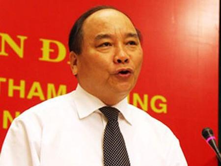 Phó Thủ tướng Nguyễn Xuân Phúc làm Trưởng ban.