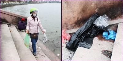 Nhưng không phải ai cũng biết cách bảo vệ môi trường. Túi bóng sau khi thả cá và tro hóa vàng có thể khiến nguồn nước tại các hồ bị ô nhiễm. Người dân nên Đó cũng chính là một hành động thiết thực góp phần bảo vệ môi trường, bảo tồn, phát huy bản sắc văn hóa dân tộc, gìn giữ những nét đẹp của tết Việt.