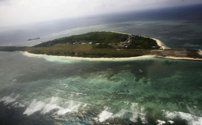 Một hòn đảo thuộc Quần đảo Hoàng Sa của Việt Nam