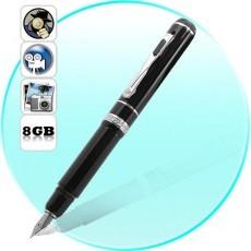 Một chiếc camera ngụy trang như một chiếc bút bình thường. Ảnh: butkythuatso.com