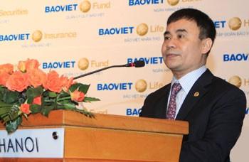Ông Trần Trọng Phúc -Tân Tổng Giám đốc tập đoàn Bảo Việt.