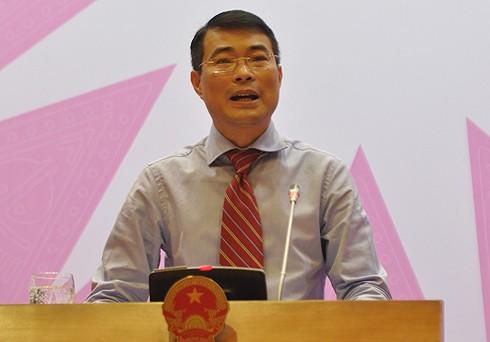 Phó Tổng Giám đốc NHNN Lê Minh Hưng.