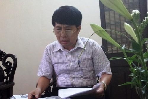 Phó chủ tịch huyện Sóc Sơn ông Nguyễn