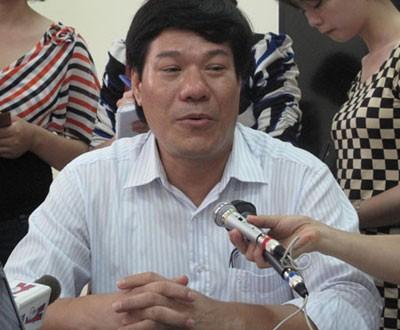Ông Nguyễn Nhật Cảm, Giám đốc Trung tâm Y tế dự phòng Hà Nội