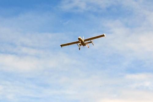 Máy bay không người lái AV.UAV.S2 trên bầu trời Đà Lạt