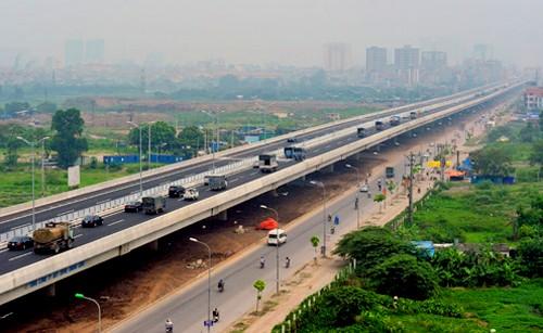 Hà Nội sắp xây cầu cạn trên cao dài hơn 6km từ Mai Dịch - Nam Thăng Long.