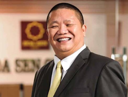 Ông chủ Tập đoàn Tôn Hoa Sen Lê Phước Vũ