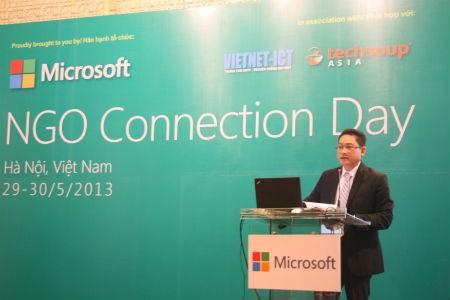 Ông Vũ Minh Trí - Tổng giám đốc Microsoft Việt Nam