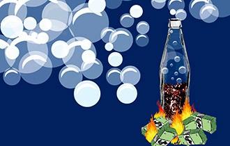 Thị trường nước giải khát sôi sục với chiêu giảm giá của hai đại gia Coca Cola và Pepsi.