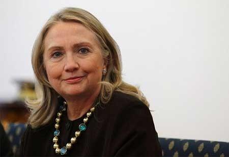 Cựu Đệ nhất phu nhân, cựu Ngoại trưởng Mỹ Hillary Clinton