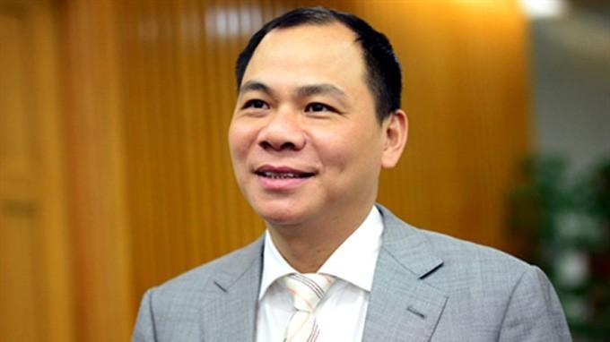 Ông Phạm Nhật Vượng là tỷ phú Việt Nam đầu tiên được Forbes vinh danh