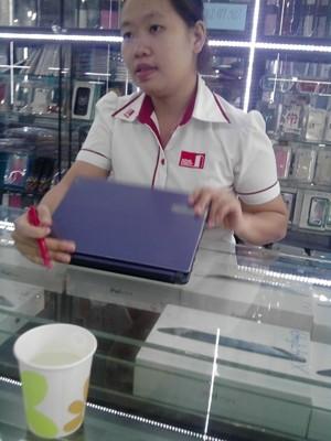 Nhân viên Ngọc cho biết khách hàng phải trả hết tiền mới được bán sản phẩm và Cty không có chương trình mua lại sản phẩm