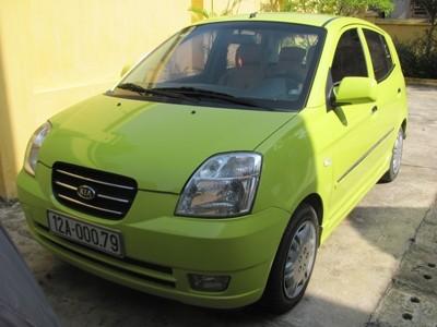 Chiếc xe ô tô bà Liên được chủ nợ tặng, đang bị công an tạm giữ