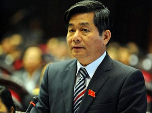 Đại biểu Quốc hội đang chọn Bộ trưởng Bộ Kế hoạch và Đầu tư Bùi Quang Vinh để chất vấn trong phiên họp tới. Ảnh: N. M