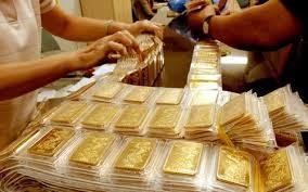 Vàng được đấu thầu với giá ngang bằng với giá thị trường. Ảnh minh họa
