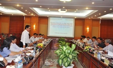 Buổi làm việc giữa Bộ trưởng Nguyễn Quân và lãnh đạo TP Đà Nẵng