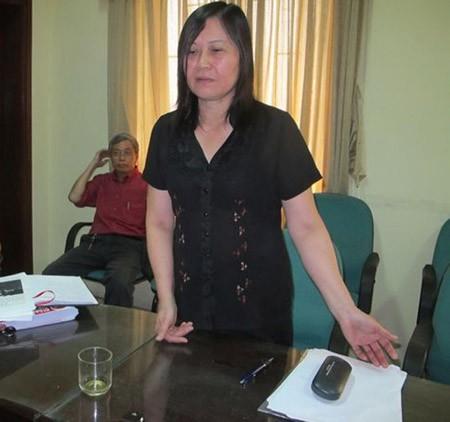 Bà Trương Thị Hải Yến đã bị cơ quan công an khởi tố và bắt tạm giam.