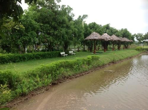 Dự án của Công ty FLC Travel làm ảnh hưởng tới 4 con mương cấp và tiêu nước cho cánh đồng người dân