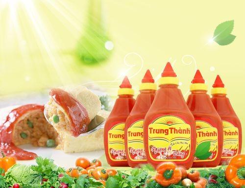 Sản phẩm tương ớt Trung Thành đang dần chiếm được cảm tình của người tiêu dùng vì đảm bảo chất lượng