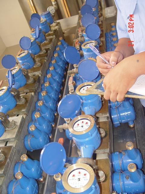 Đã có 3.231 đồng hồ đo nước lạnh được kiểm định tại Trung tâm Kỹ thuật TCĐLCL Trà Vinh
