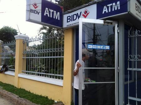 Chưa tết, cây ATM của BIDV đã ngẽn mạch