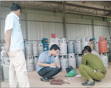 Gas lậu tràn lan trên thị trường khó kiểm soát