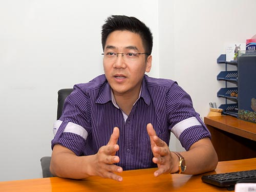 Ông Nguyễn Minh Đức, Phó chủ tịch phụ trách an ninh mạng của Bkav