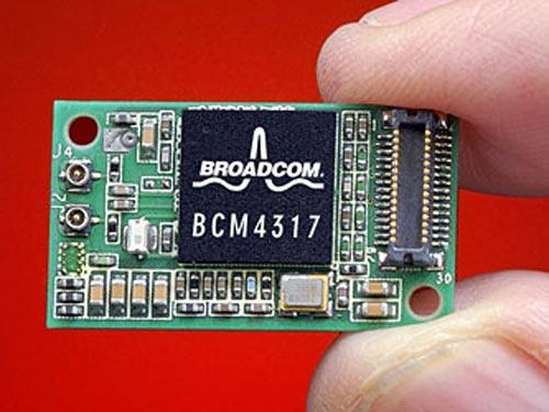 Kích thước và trọng lượng nhẹ khiến các con chip WiFi/3G rất khó bị phát hiện