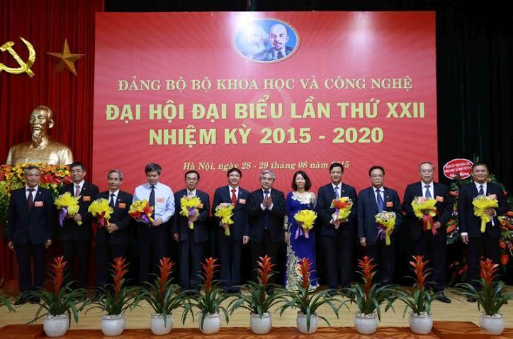 Đại hội Đảng bộ Bộ KH&CN lần thứ XXII, nhiệm kỳ 2015-2020
