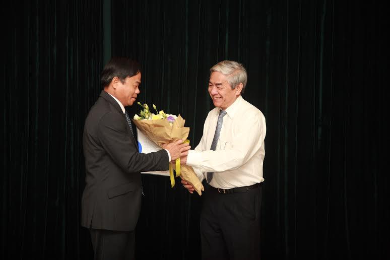 bổ nhiệm tổng cục trưởng Trần Văn Vinh