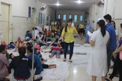 Vụ ngộ độc diễn ra nghi do sự cố bất đồng về giá khẩu phần ăn và các chế độ về tiền lương giữa công nhân và công ty TNHH giày Vĩnh Nghĩa.