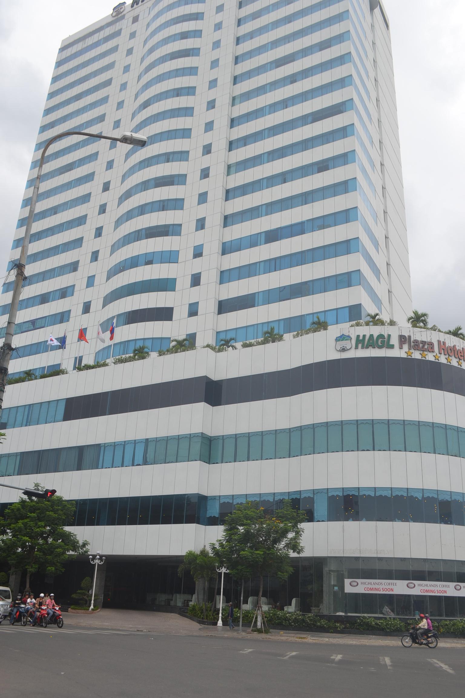 Rơi thang máy ở KS Hoàng Anh Gia Lai-Đà Nẵng làm nhiều người bị thương