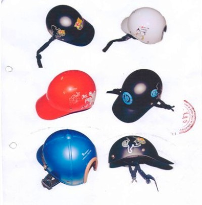 Những mẫu mũ sẽ bị xử phạt nếu người dân sử dụng để đi mô tô xe máy