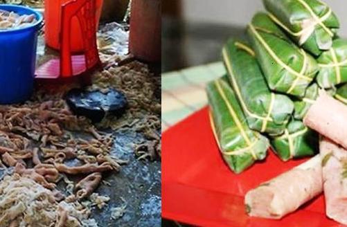 Nem chua Thanh Hóa được chế biến với công nghệ siêu bẩn