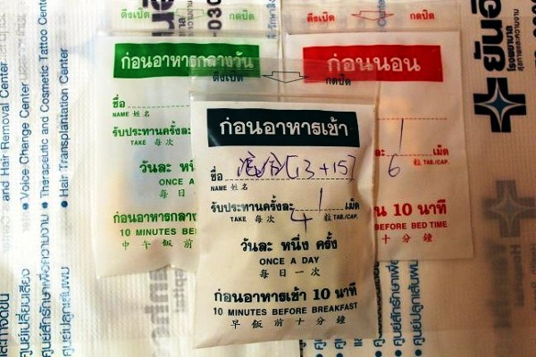 Thuốc giảm cân Thái Lan Yanhee được các shop chia thành từng liệu trình bán cho khách