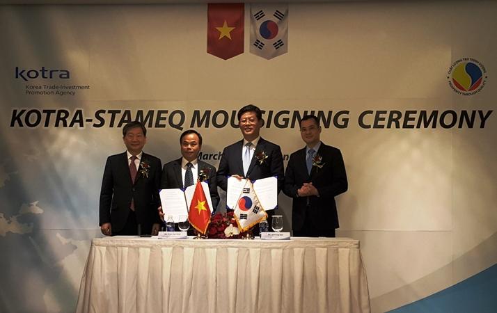 Ký kết hợp tác Việt Nam - Hàn Quốc