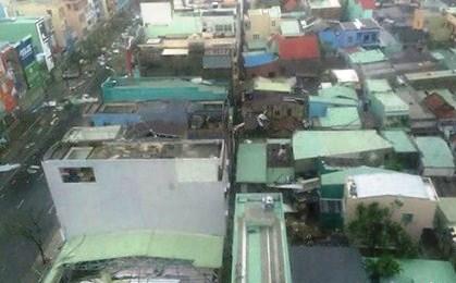 Bão số 11 đã tàn phá Đà Nẵng kinh hoàng