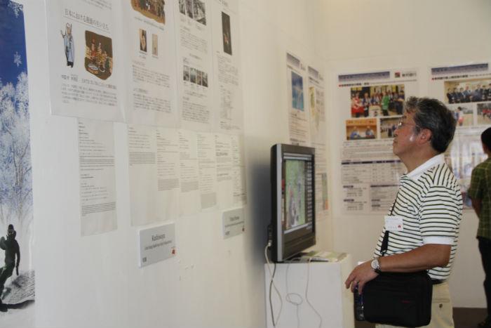 Buổi triển lãm ảnh không chỉ thu hút những người Nhật đang sinh sống và làm việc ở Việt Nam