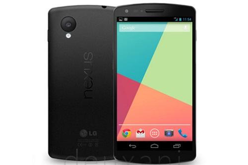 Google Android, Nexus 5, smartphone gooogle