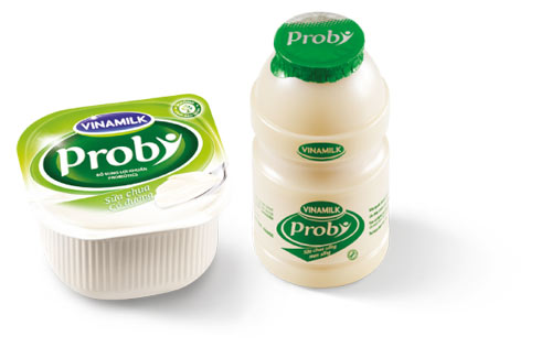 Nhiều loại sữa chua của Vinamilk có lợi cho sức khỏe