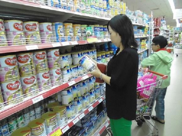 Giá sữa trên thị trường biến động mạnh