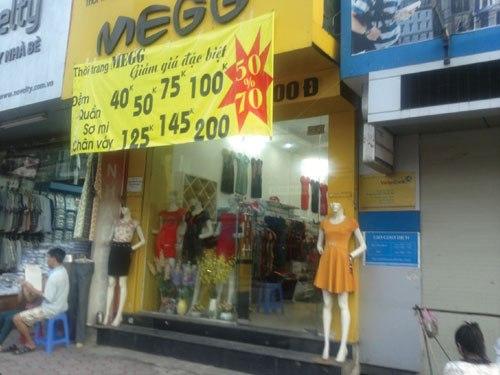 Quần áo thời trang thu đông giảm giá sốc