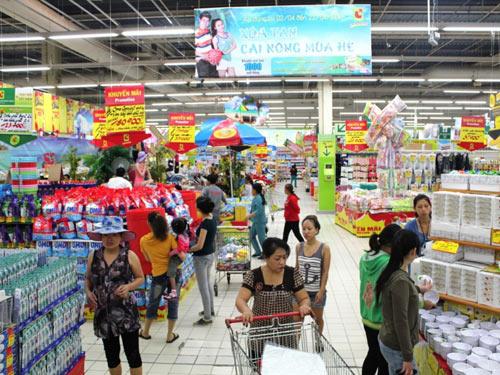Hàng việt khó vào siêu thị
