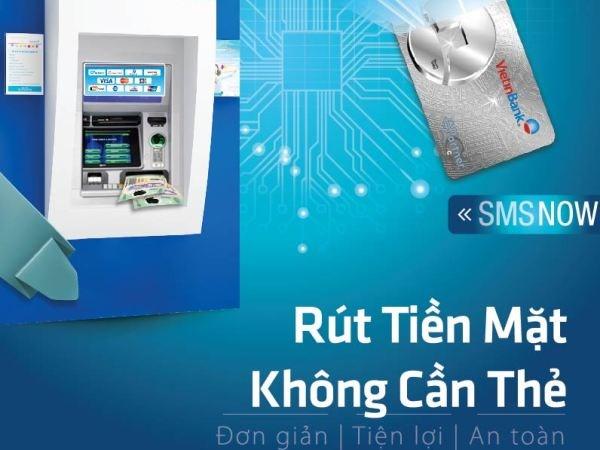 Lần đầu tiên có rút, nạp tiền tại ATM mà không cần thẻ