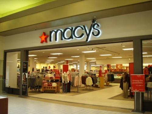 9. Macy's, điểm: 29,6%, điểm so với năm 2012: Giảm 7,2%