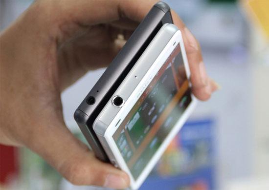 Bộ đôi iPhone 6 và Xperia Z3 lên kệ ở Việt Nam