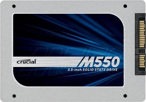 Hãng sản xuất thiết bị nhớ Crucial mới đây đã giới thiệu ra thị trường dòng ổ SSD mới nhất của mình là M550 series, với 3 thiết kế Tiêu chuẩn gồm mSATA, M.2 và 2.5 inch. M550 có dung lượng từ 128GB tới 512MB, riêng loại 2.5