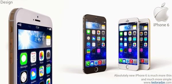 Tác giả đồng thời phác họa hình dung về iOS 9 trong đó giao diện có những thay đổi lớn để giúp người dùng tương tác tốt hơn bằng một tay với thiết bị có màn hình lớn.