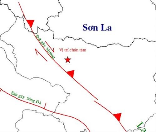 Sơn La động đất